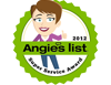 2012 Angie's List Super Service Award