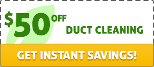 $50 off duct cleaning. Get instant savings!