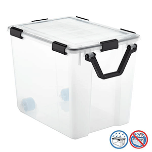 air tight container to protect against bed bugs