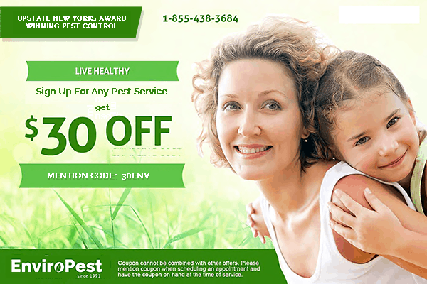 $30 off web coupon for pest control