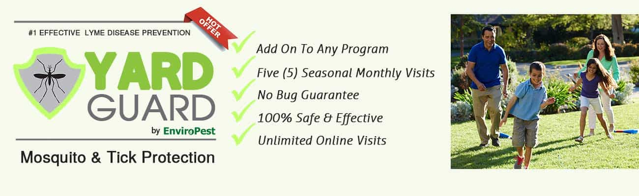 Yard Guard mosquito and tick protection program