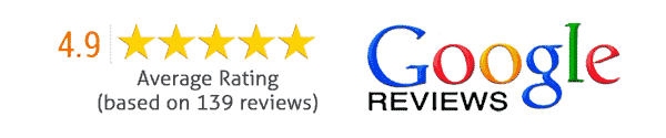 Google rating from pest control customers - 4.9/5.0