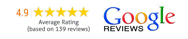 Google reviews - 4.9/5.0