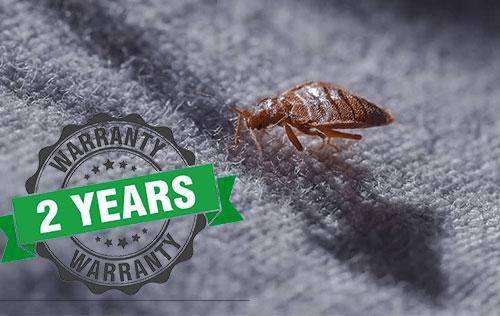 2-year bed bug warranty